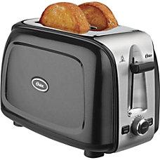 Oster 2 Slice Toaster Black Metallic