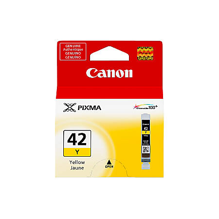 Canon ChromaLife 100+ CLI-42 Ink Tank, Yellow