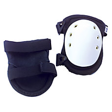 BLACK NOMAR KNEE PADS WBUCKLE FASTENING