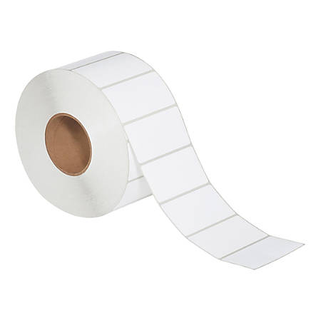 """Office Depot® Brand Rectangle Direct Thermal Labels, THL153, 4"""" x 2"""", White, Pack Of 4 Rolls"""