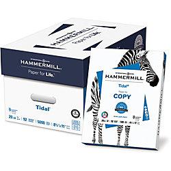 "Hammermill® Tidal Printer Paper, Letter Size (8 1/2"" x 11""), 20 Lb, 92 (U.S.) Brightness, Ream Of 500 Sheets, Case Of 10 Reams"
