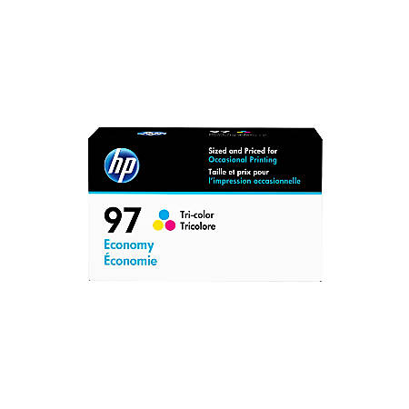 HP 97 Economy-Yield Tri-Color Ink Cartridge (D8J32AN)