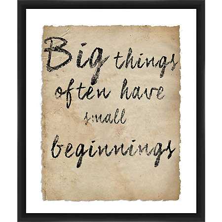 "PTM Images Framed Wall Art, Big Things, 25 1/2""H x 21 1/2""W"