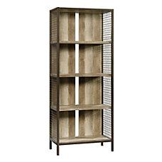 Sauder Carson Forge 5 Shelf Bookcase