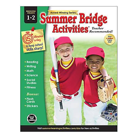 Carson-Dellosa Summer Bridge Activities® Workbooks, Grades 1-2, Pack Of 30 Workbooks