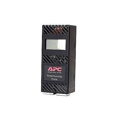 APC Temperature & Humidity Sensor with Display - Black