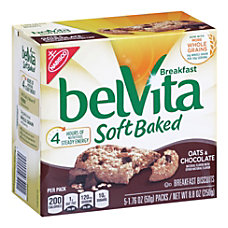 belVita Soft Baked Oats Chocolate Breakfast