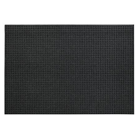 """Waterhog Lift Truck Floor Mat, 48"""" x 72"""", Charcoal"""