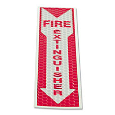 LC Industries Luminous Fire Extinguisher Sign