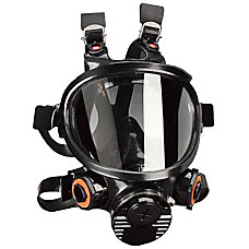 FULL FACEPIECE SILICONERESPIRATOR MEDIUM SIZE