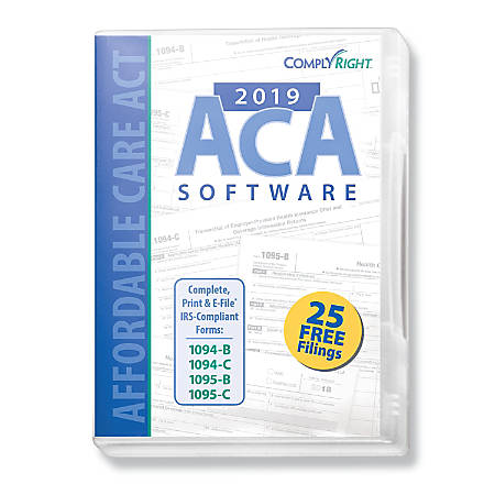 ComplyRight™ 2019 Affordable Care Act Software, Traditional Disc