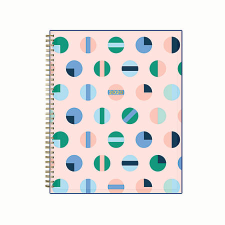 """Blue Sky™ Dabney Lee Weekly/Monthly Planner, 8-1/2"""" x 11"""", Pinball Wizard, January 2020 to December 2020"""