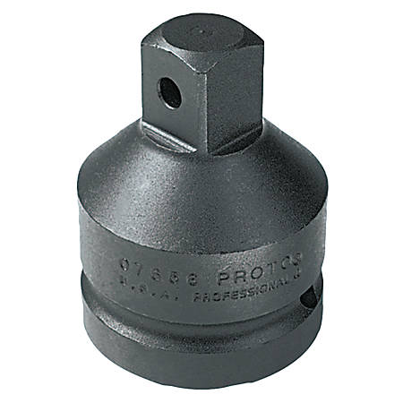 "Impact Socket Adapters, 3/4"" (female square); 1/2"" (male square) drive, 2 1/8"""