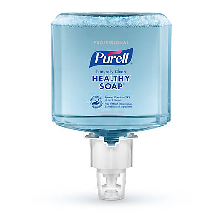 Purell® Professional CRT HEALTHY SOAP™ Naturally Clean Fragrance-Free Foam Hand Soap Refill, ES4, 40.58 Oz