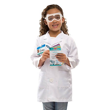 Melissa & Doug Scientist Role Play Set, Kindergarten To Grade 2