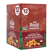 Royal Hawaiian Hawaii BBQ Macadamia Nuts