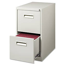 Lorell 2 Drawer Mobile Letter Size