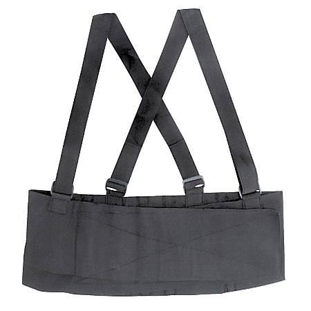 DMI® Deluxe Industrial Back Support, Standard, Black