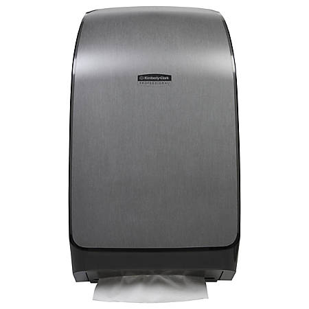 Kimberly Clark® Mod™ Scottfold™ Towel Dispenser, Brushed Metallic Silver