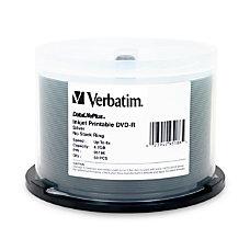 Verbatim DVD R 47GB 8X DataLifePllus