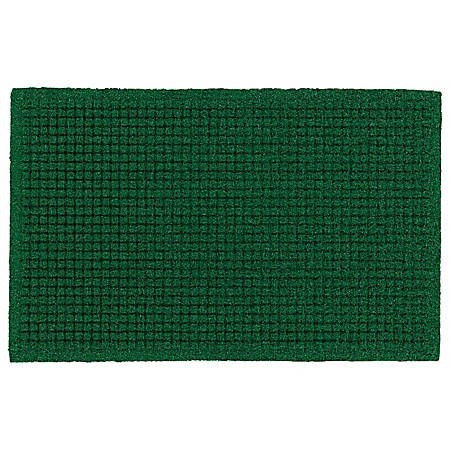 "The Andersen Company Brush Hog Plus Floor Mat, 36"" x 60"", 20% Recycled, Green Brush"