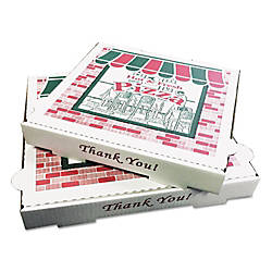 PIZZA Box Takeout Containers White Pack