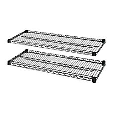 Lorell 4 Tier Wire Rack With
