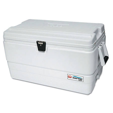 Igloo Marine Ultra Series Ice Chest, 72 Qt, White
