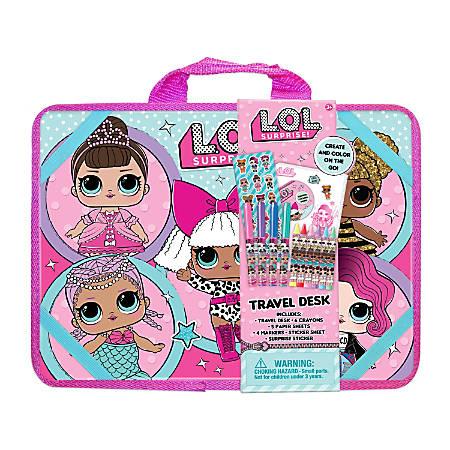 """L.O.L. Surprise! Travel Lap Desk Activity Set, 10-1/8"""" x 14"""""""