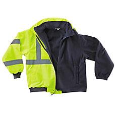 Ergodyne GloWear 8380 Polyester Bomber Jacket