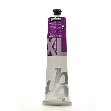 Pebeo Studio XL Oil Paint, 200 mL, Cobalt Violet Light, Pack Of 2