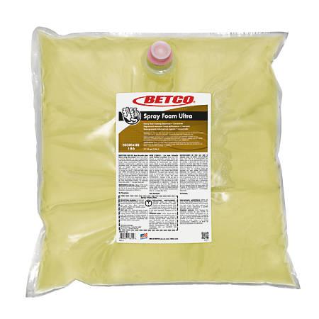 Betco® Ultra Spray Foam, 384 Oz, Amber