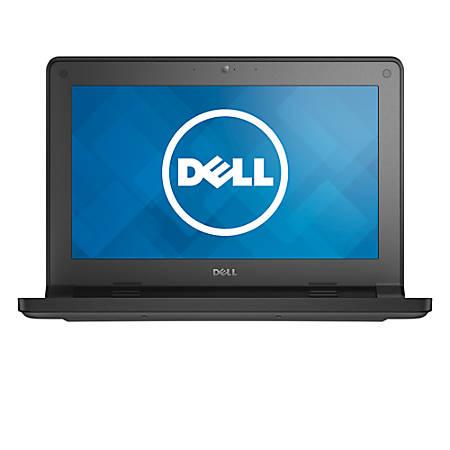 "Dell™ Latitude 11 3160 Laptop, 11.6"" Touchscreen, Intel® Pentium® Quad-Core, 4GB Memory, 500GB Hard Drive, Windows® 10 Professional"