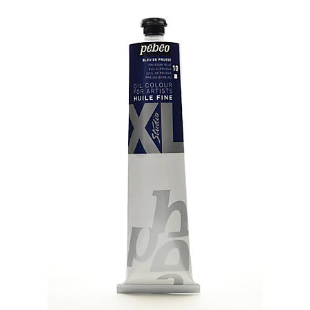 Pebeo Studio XL Oil Paint, 200 mL, Prussian Blue, Pack Of 2