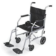 Medline Basic Steel Transport Chair 17