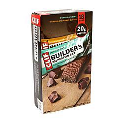 Clif Builders 20 Gram Protein Bars