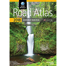 Rand McNally Road Atlas 2018