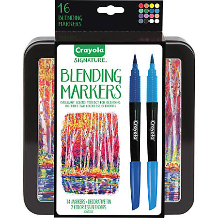 Crayola Signature Blending Markers - 16 / Set
