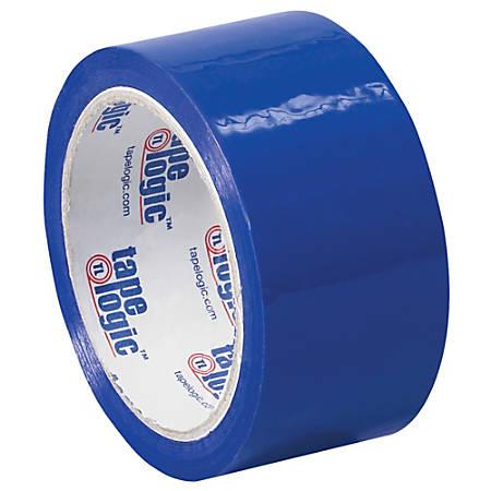 """Tape Logic® Carton Sealing Tape, 2"""" x 55 Yd., Blue, Case Of 36"""