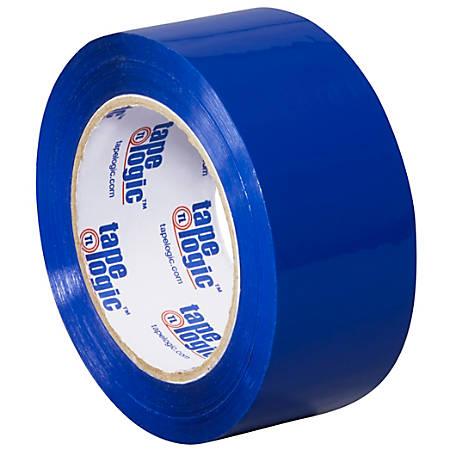 """Tape Logic® Carton Sealing Tape, 2"""" x 110 Yd., Blue, Case Of 36"""