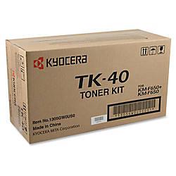 Kyocera KYOTK40 Black Toner Cartridge
