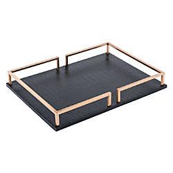 Zuo Modern Square Tray Black
