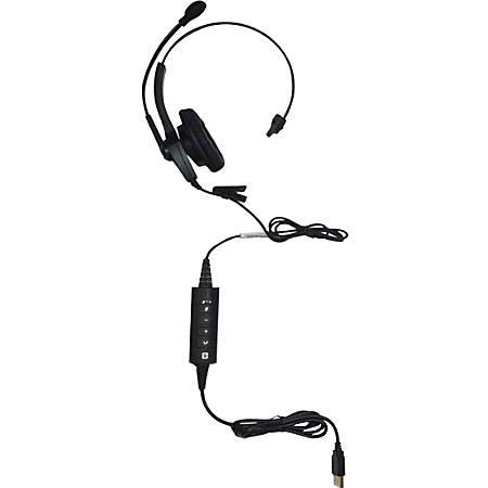 Spracht ZUM™ UC1 Single Ear USB Headset, Black