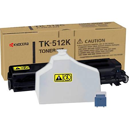 Kyocera TK-512K Original Toner Cartridge - Laser - 8000 Pages - Black