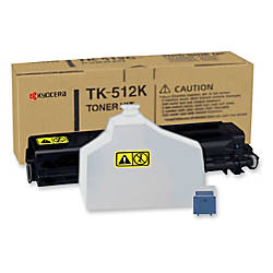 Kyocera TK 512K Original Toner Cartridge