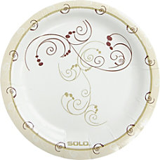 Solo Heavyweight Paper Plates 6 Natural