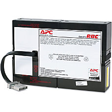 APC UPS Replacement Battery Cartridge Spill