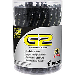 G2 Retractable Gel Ink Pens with