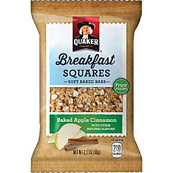 Quaker Oats Foods Breakfast Squares Soft