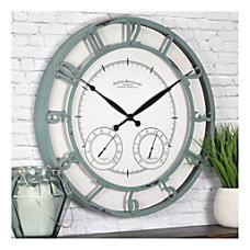 FirsTime Co Laguna Outdoor Clock Aged